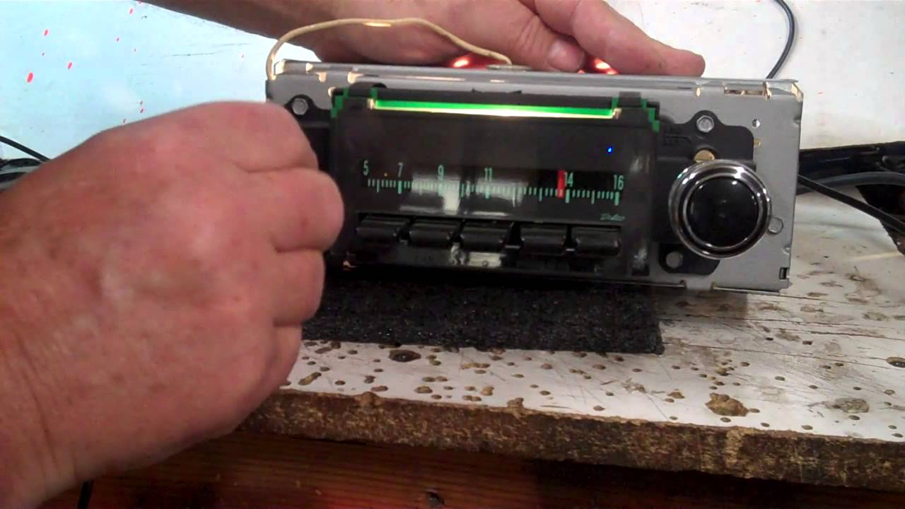 Original 69 Camaro Gm Delco Radio Wiring Trusted Schematics Diagram 1968 Chevelle 1969 Am Conversion Youtube Cd Player