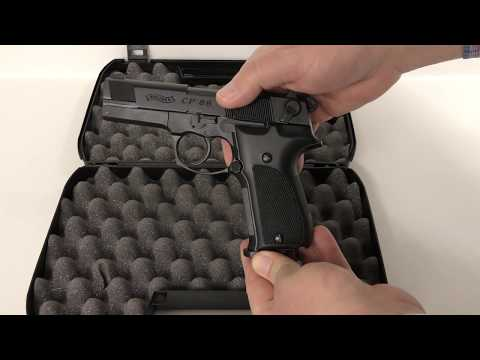 REVIEW: Walther CP88 - Replica CO2 Pellet Pistol