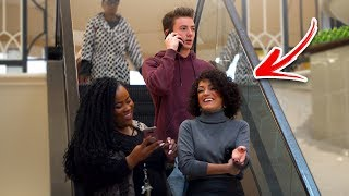 AWKWARD PHONE CALLS on the ESCALATOR PRANK! (Part 2)