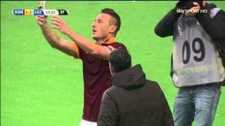 [SKY SPORT ITA HD] Gol pazzesco di Totti in Roma-Lazio 2-2