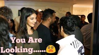 Sairat Actor Akash Thosar And Anurag Kashyap Daughter Aaliya Together  At Lust Stories Screening