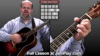 Joy to the World Video Guitar Lesson(Learn how to play the classic Christmas song Joy to the World in this video guitar lesson. For more, visit http://www.jamplay.com/youtube3 . JamPlay™ is the #1 ..., 2007-11-17T00:20:07.000Z)