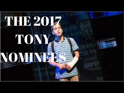 The 2017 TONY BEST MUSICAL NOMINEES