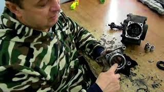 Ремонт квадроцикла CFmoto X 8 ремонт заднего редуктора  замена подшипника и сальников
