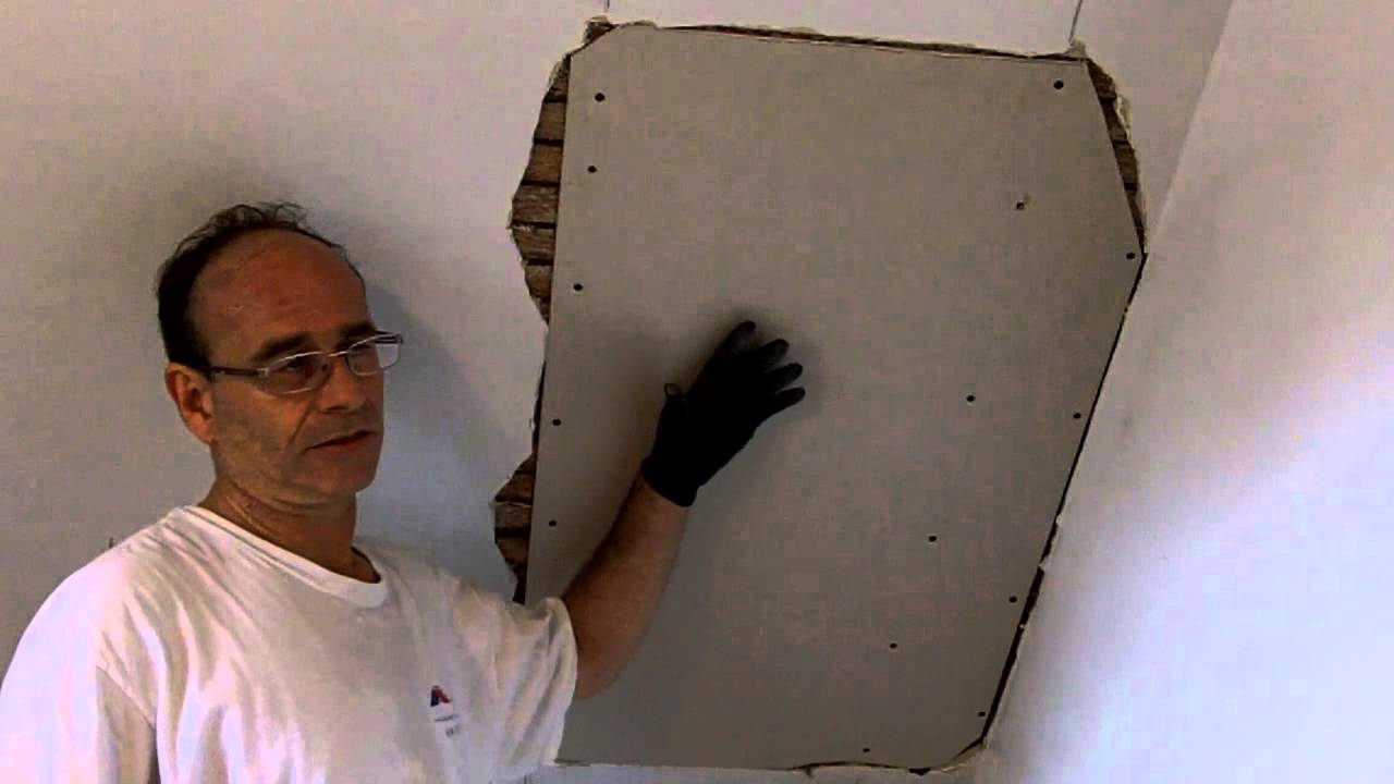 Lath And Plaster Repair 1   YouTube