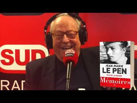 Jean-Marie Le Pen - Sud Radio