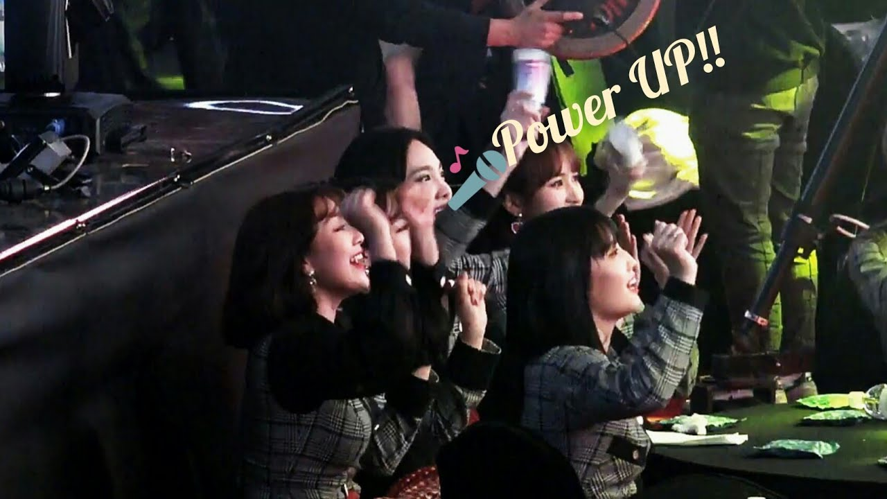 Twice Crazy reaction to RedVelvet (8th Gaon Chart Music Awards 2019)