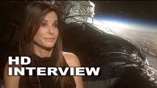 Gravity: Sandra Bullock Talks Space, Her Character, and Being Afraid of Flying