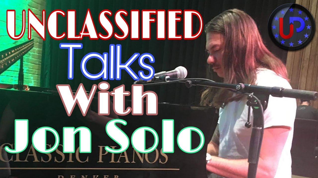 Unclassified Talks with: Jon Solo a.k.a Naneum
