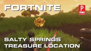 Fortnite - Salty Springs Treasure Map Challenge Guide