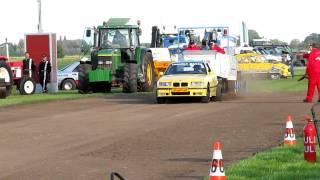 Carpulling Snelrewaard 2011 Trouble Maker 1ste manche autotrek