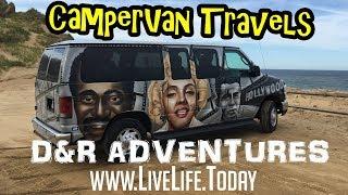 we rented an escape campervan