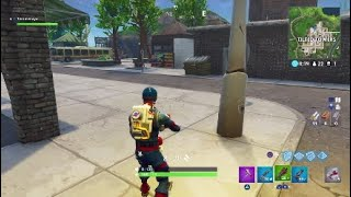 test Fortnite: How much damage the C4 inflict on buildings?