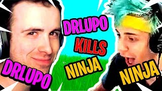 DRLUPO KILLS NINJA WITH IMPULSE NADE AND NINJA GETS REVENGE! - Fortnite Funny and Epic Moments