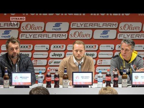 24. Spieltag | FWK - SGD | Pressekonferenz nach dem Spiel