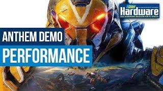 Anthem-Demo Gameplay   Performance @ Geforce RTX 2070   GTX 1050