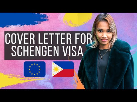 HOW TO WRITE A COVER LETTER FOR SCHENGEN VISA!