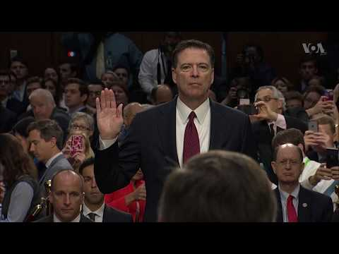 Video highlights: Former FBI Chief James Comey testifies before the Senate Intelligence Committee