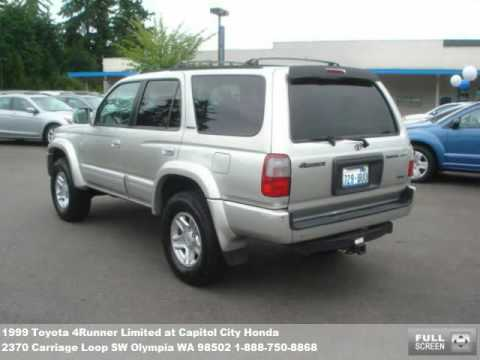1999 Toyota 4Runner Limited, $10999 At Capitol City Honda In Olympia, WA