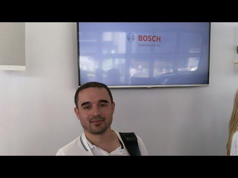 Мы на мимс2017... Видео о стенде развал схождения фирмы Bosch с возможностью бесконтактной проверки