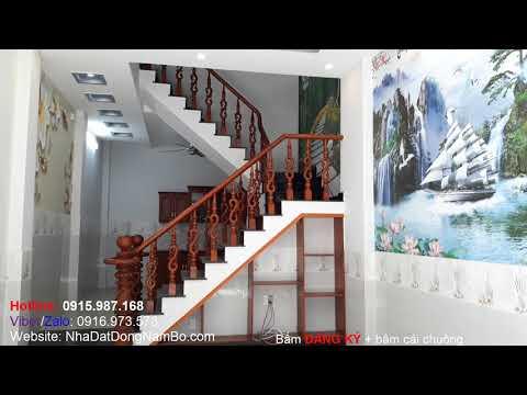 Video nhà bán quận Bình Tân, 4x11m đúc 4 tấm, hẻm 6m Liên Khu 10-11, Bình Trị Đông. Nhà đẹp sổ hồng riêng