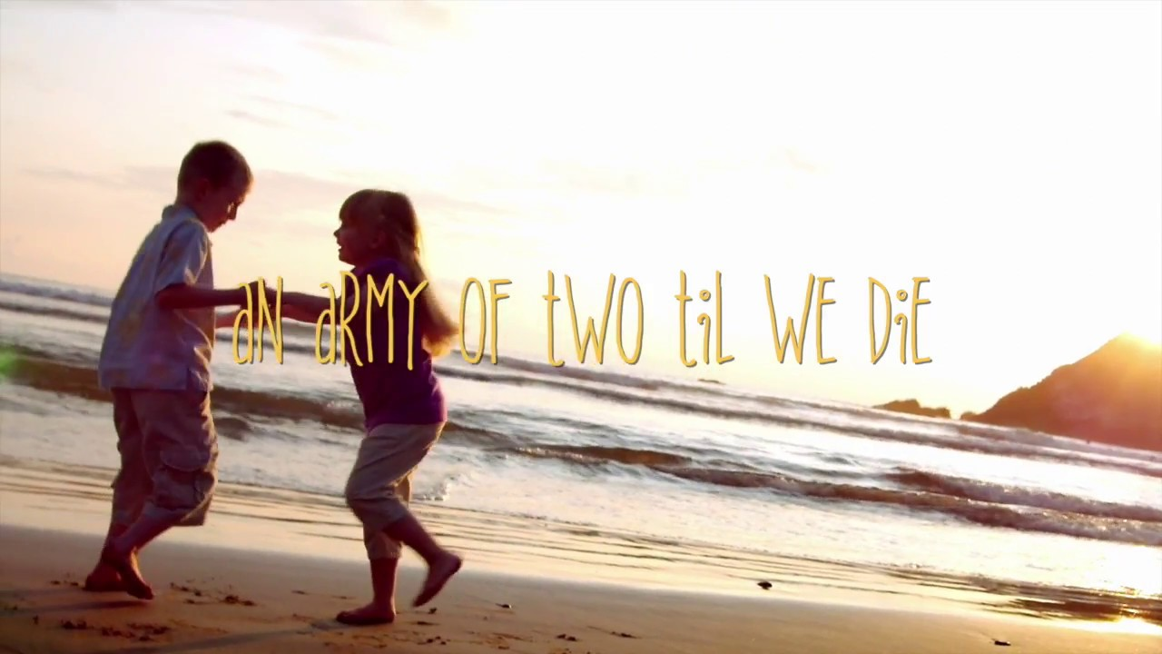 army of two sam shrieve official lyric video youtube