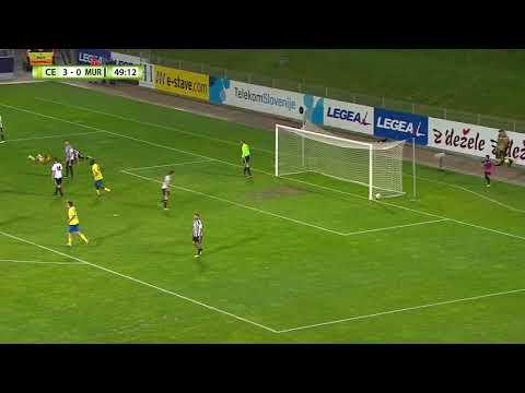 Celje - Mura, 4:0 Prva tekma, 3. krog Pokala Slovenije 2017/18