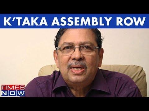 Karnataka Assembly Menace: Santosh Hegde, Former Karnataka Lokayukta Speaks With Times NOW