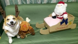 Christmas Diy How To Make Sleigh With Cardboard Box ダンボールのソリ作り方