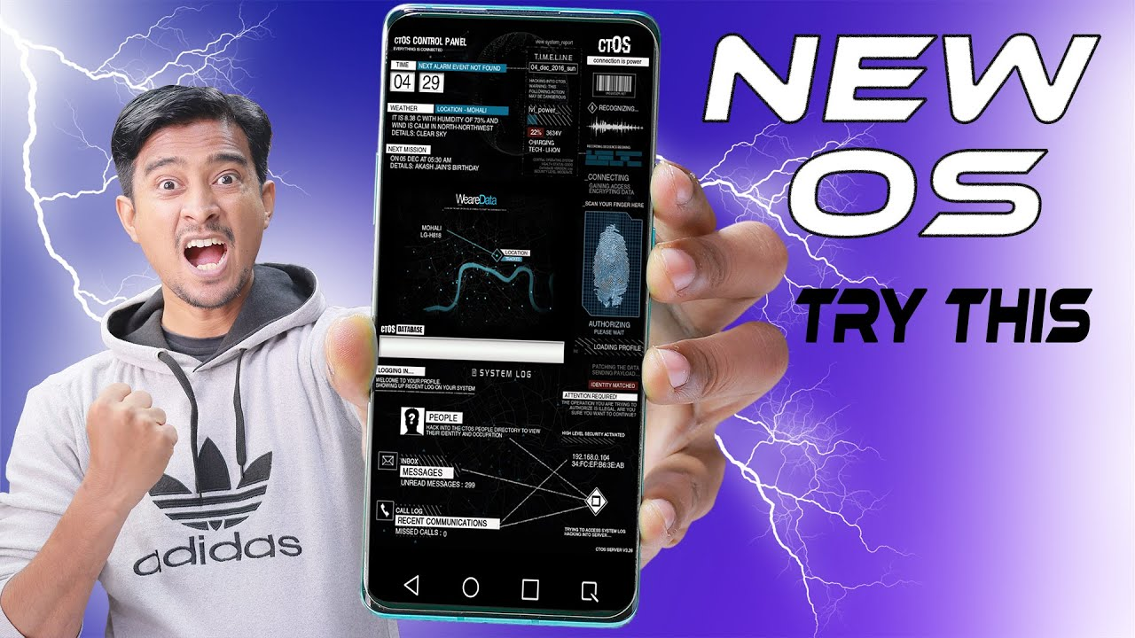 AMAZING Live Wallpaper Apps for Android 2017 | ctOS UI ...
