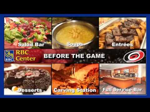Arena Club Restaurant at the RBC Center - Join Us Before a Canes Game!