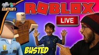 🚨 ROBLOX LIVE 🚨 NEW IRL MERCH 👕 Subs Play Jailbreak / Speed Run  and More 💙  (1-31-18)