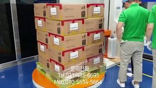 """파렛트랩핑기, 랩핑기 제품문의 """"일동포장기계&…"""