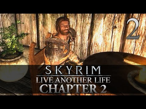 THE JARL OF AMBER CREEK! - Skyrim: Live Another Life Chapter 2 Let's Play 2 (Skyrim/Mods/PC)