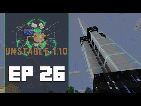 FTB Unstable 1.10 Ep 26 | Lightning Rod | Dolinmyster Plays FTB Unstable 1.10 Gameplay
