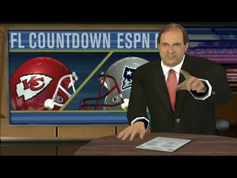 ESPN NFL 2K5 GAMEPLAY - PLAYOFF PREVIEW - PATRIOTS VS CHIEFS