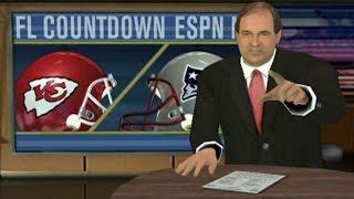 ESPN NFL 2K5 GAMEPLAY - PLAYOFF PREVIEW - PATRIOTS VS CHIEFS