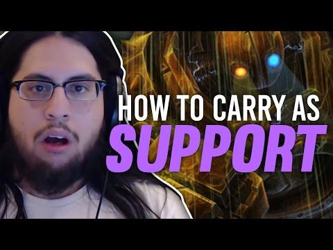 Imaqtpie - HOW TO CARRY AS SUPPORT (I AM THE GOD HAND)
