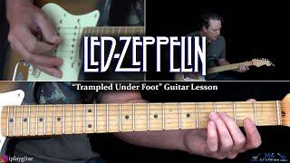 Led Zeppelin - Trampled Under Foot Guitar Lesson