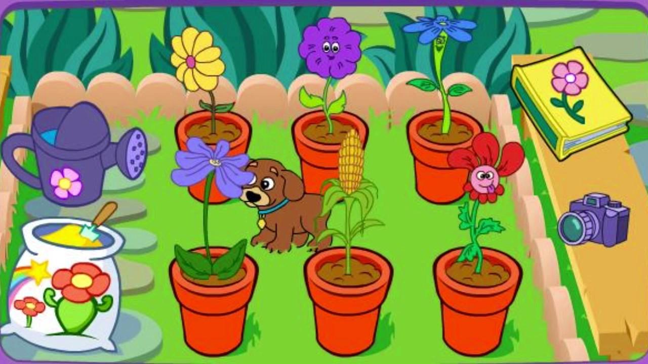 Dora S Magical Garden Games Dora The Explorer Youtube