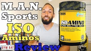 Pure Isolated BCAA | Iso-Aminos M.A.N. Sports | Supplement Review