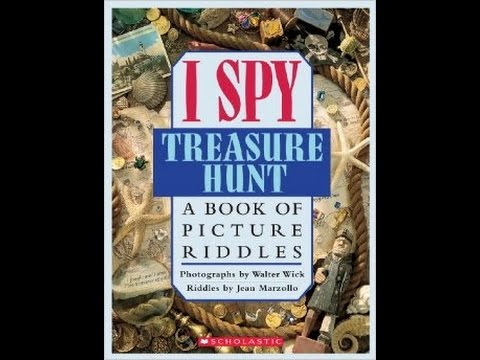 I spy books treasure hunt