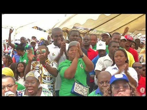 Guinée equatoriale, T. O. NGUEMA MBASOGO débute sa campagne électorale