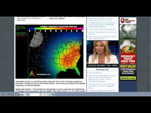 US Government Declaring War on American Citizens HAARP Gulf Fracking & Collapse