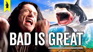 Why BAD Films Are Better Than You Think (feat. The Room, Sharknado, Troll 2) – Wisecrack Vlog