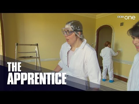 The girls paint - The Apprentice 2017: Episode 2 | BBC One