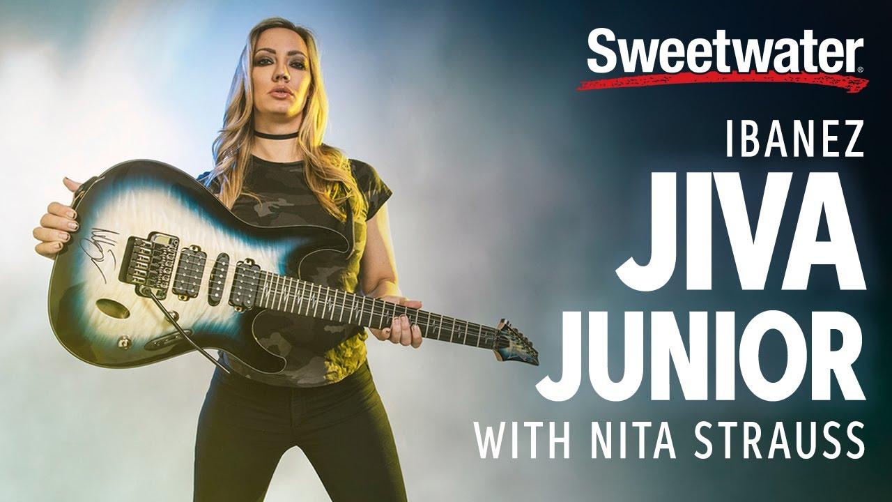 Ibanez Jiva Junior Demo with Nita Strauss