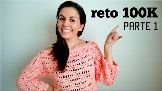 Repeat youtube video SWEATER a crochet (jersey, saco, suéter, pullover) | How to crochet a SWEATER
