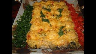 Обалденные фрикадельки с брюссельской капустой под сыром