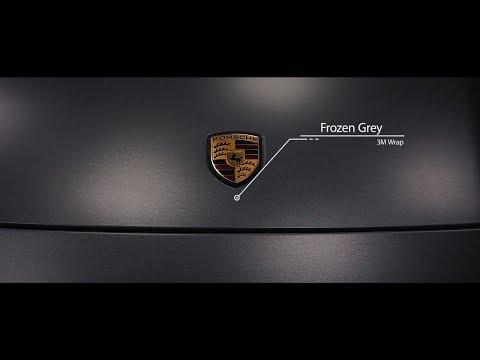 3M Wrapped Porsche Panamera Frozen Grey
